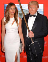 Trump Gothic: How Do You Hold This Whatever It Is? by vincegotera