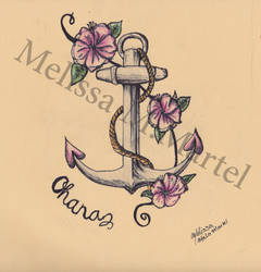 Anchor Tattoo - CM by DizzyMouse