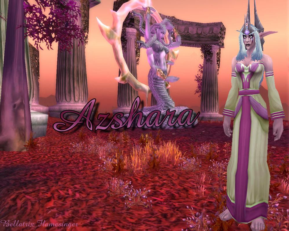 Azshara Queen Of The Naga By Bellatrixflamesinger On Deviantart