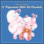 Advent2018 - 12. Peppermint White Hot Chocolate by Chital
