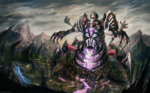 Death Colossus by rEzblack