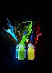 Spirit in a bottle by sheePcheN