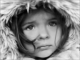 Winter portrait by fotouczniak