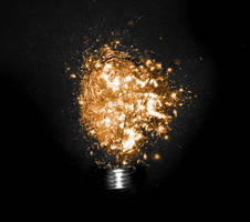 lamp of idea by tariqdesign