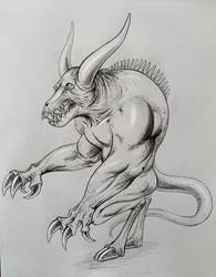 beast by PaulDarkdraft