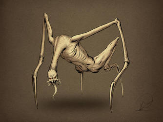 creature by PaulDarkdraft