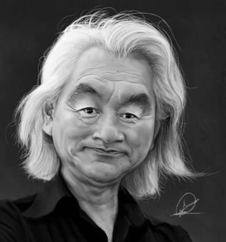 MichioKaku by PaulDarkdraft