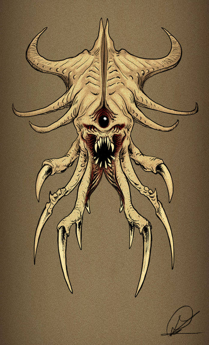 monster by PaulDarkdraft