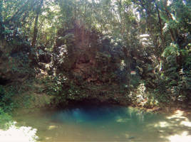 Blue Hole Cenote by atreyu917