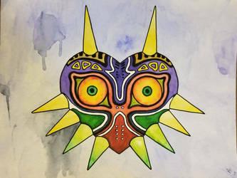 Majora's Mask  by atreyu917