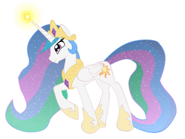 Princess Celestia by ultimatewino