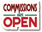 profile sticker - block commission status open 3 by iAmAneleBiscarra