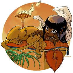 une petite sphinx by ladynauriel