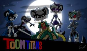 Toon Titans by MartonSzucsStudio