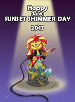 Equestria Mice - Happy (Late) SUNSET SHIMMER Day! by MartonSzucsStudio