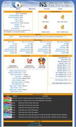 Pokedex Website Design-Sinnoh by xblBloodwize