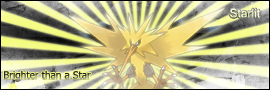 Starlit - Zapdos Signature by xblBloodwize