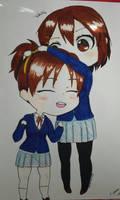 Yui and Ui by OtakuPowah