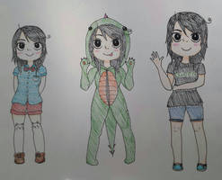 Cartoon style time!! by OtakuPowah