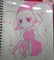 Pinky Pink by OtakuPowah