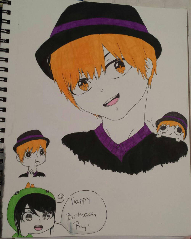 Happy Birthday Ry! by OtakuPowah