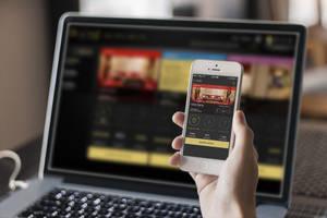 Devices - HotelsAroundYou.com by studioincandescence