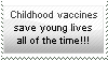 CHILDHOOD VACCINES stamp by HopeSwings777