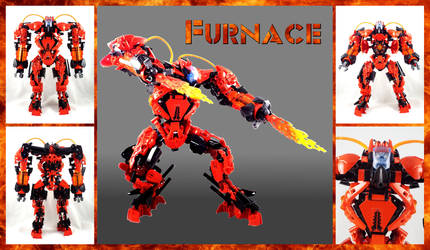 Bionicle MOC: Furnace 3.0 by Mana-Ramp-Matoran