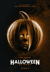 HALLOWEEN RETURNS Teaser Poster by themadbutcher