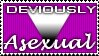 Deviously Asexual - Stamp by asexual-deviants
