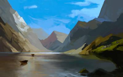 Landscape by AlMuse