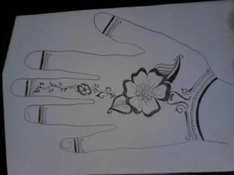 Henna Skizzen1 by Yilanja