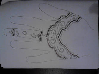 Henna Skizzen2 by Yilanja