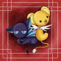 Kero and Suppi by StrayMinK