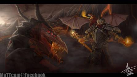 Dragon Master Swain by MaTTcomGO