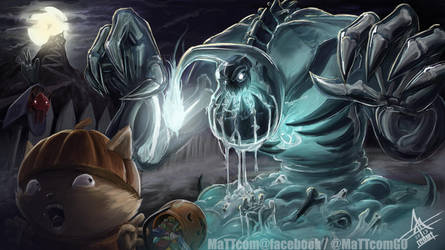 Spooky Zac (and pumpkin Teemo!) by MaTTcomGO