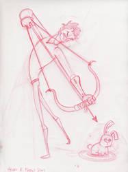 Bunny Assassin by Hen-Hen