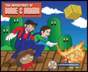 Adventures of Duane and Brando by artofthemonkey