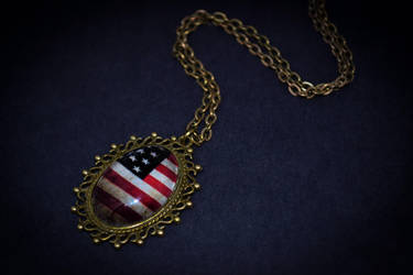 USA necklace by Yoruki8