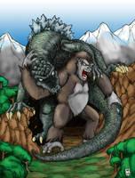 King Kong vs. Godzilla Ver1 by hawanja
