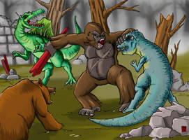 KC - Kong's final Battle by hawanja