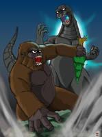 King Kong Vs Godzilla by hawanja