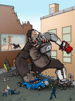 Kong Chronicles - Cyborg Kong by hawanja