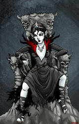 The Black Queen by hawanja