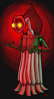 The Flatwoods monster by hawanja