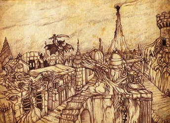 The Pandemonium City, capital of Hell by hawanja