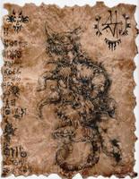 Solebaterrium, Lord of Nightmares by hawanja