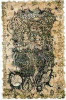 Azathoth, the Blind Idiot God by hawanja