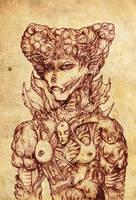 Lady Demon by hawanja