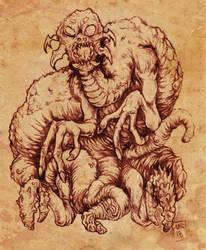 Nightmare Beast by hawanja